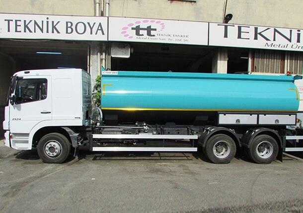 Su tankeri fiyatları