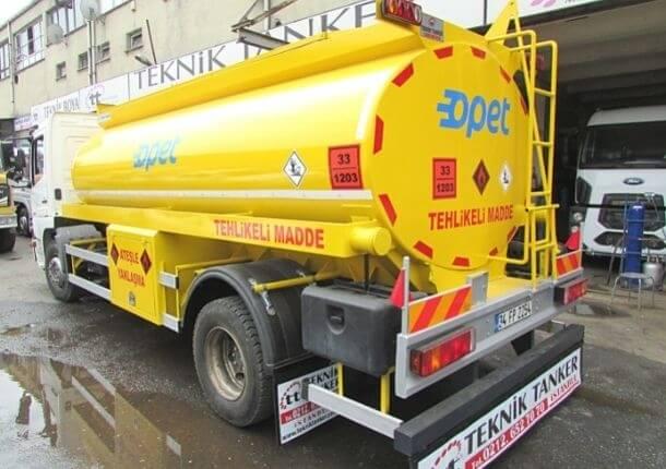 Akaryakıt tankerlerinde bulunması gerekenler