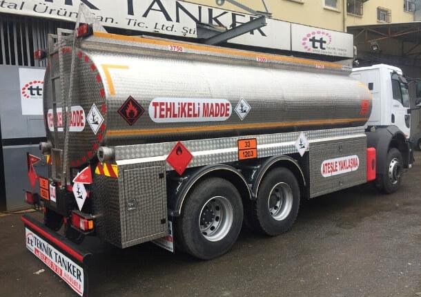 Mazot tankerinin fonksiyonelliği