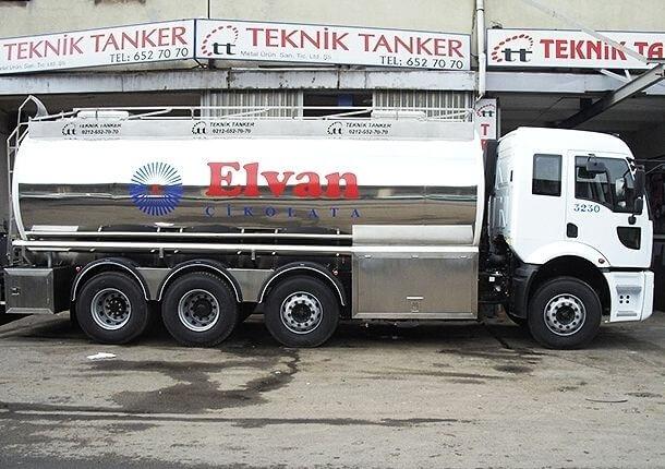 Gıda tankerinde modüler işlevsellik