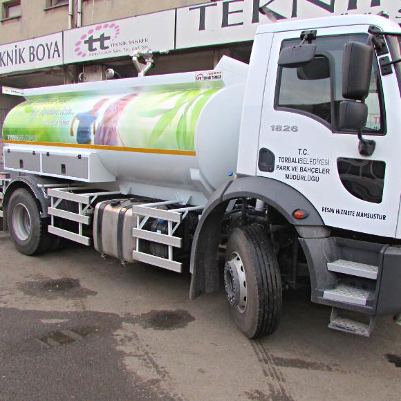 12 Ton Su Tankeri