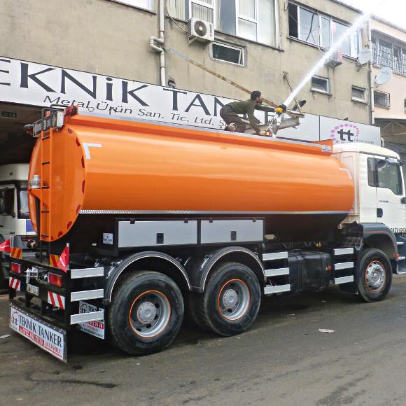15 Ton Su Tankeri