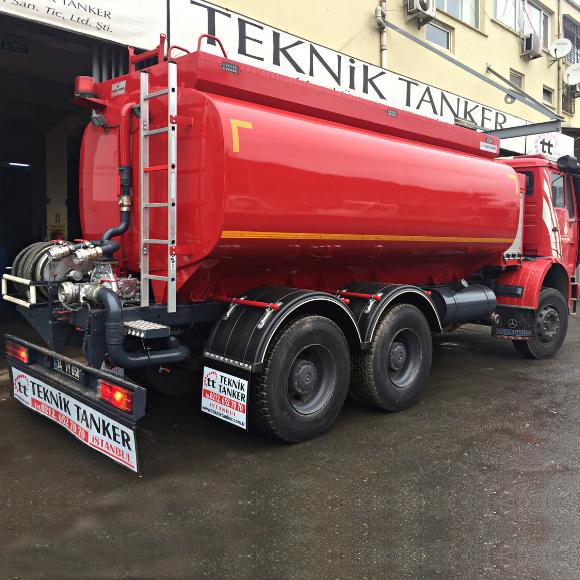 16 Ton Su Tankeri
