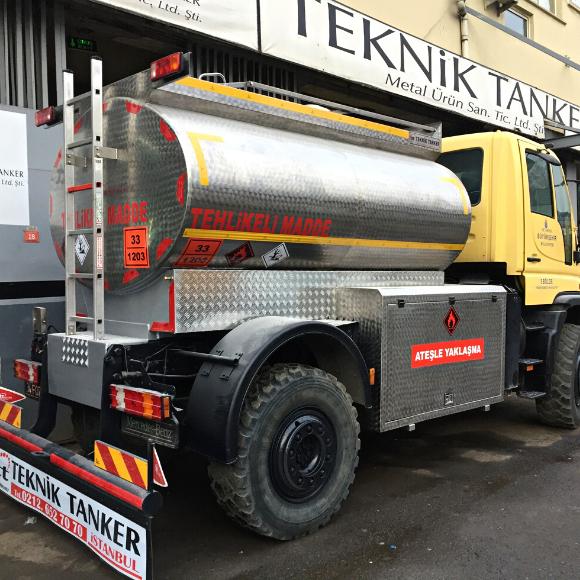 7500 Litre Akaryakıt Tankeri