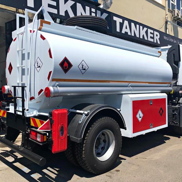 8000 Litre Akaryakıt Tankeri
