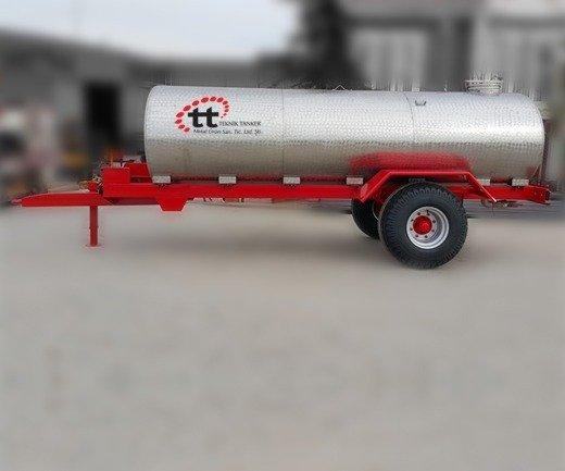 12 ton cift dingil su tankeri