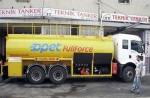 akaryakıt tankeri imalatı
